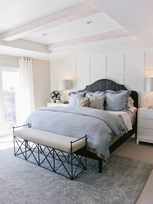 White Master Bedroom Houzz