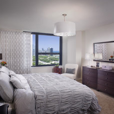 Contemporary Bedroom by Mary Cook