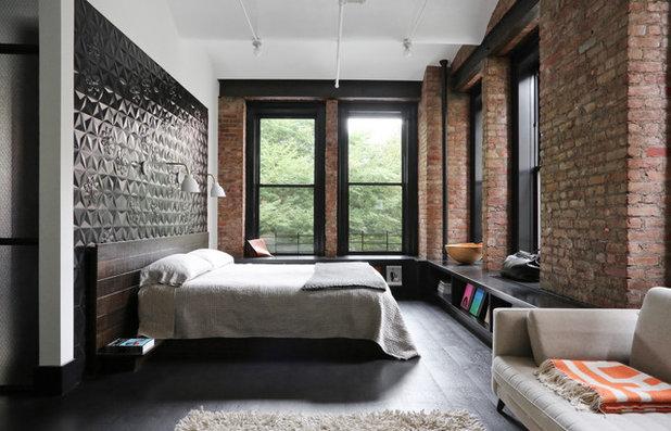Industrial Bedroom by Union Studio