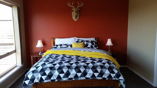 Contemporary Bedroom by Colour Pop Interior Design