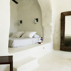 Mediterranean Bedroom Greecian bedroom nook