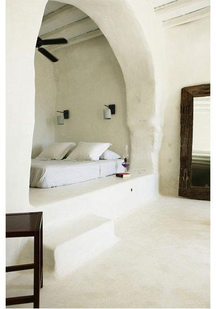 Mediterranean Bedroom Greecian bedroom nook