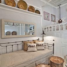 Mediterranean Bedroom by Design Lab