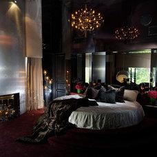 Modern Bedroom by bronwyn swackhamer
