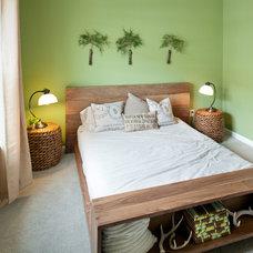 Eclectic Bedroom by Nest Designs LLC