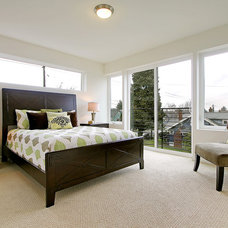 Contemporary Bedroom by Seattle Staged to Sell and Design LLC