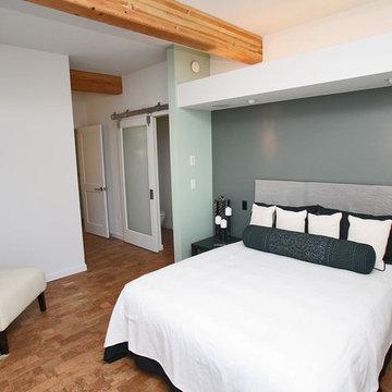 Green Cubed - Modern Bedroom Photos