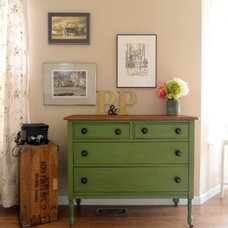 Traditional Bedroom by Picked & Painted