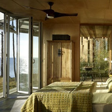 Contemporary Bedroom Green Prefab