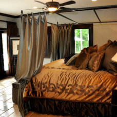 Mediterranean Bedroom by GradCo Structures & Homes, LLC