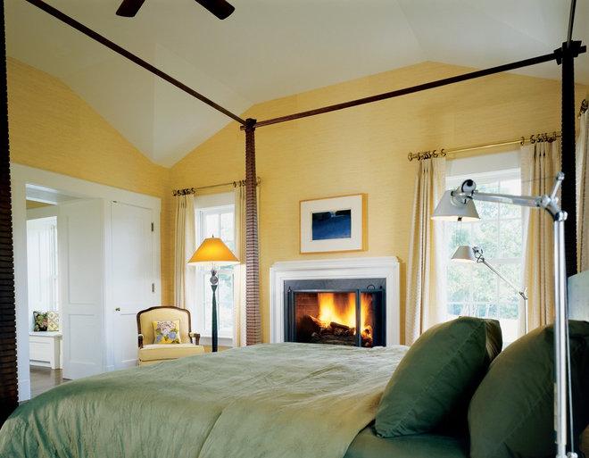 Farmhouse Bedroom by Ike Kligerman Barkley