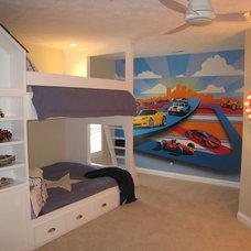 Contemporary Bedroom by Green Trade Contracting