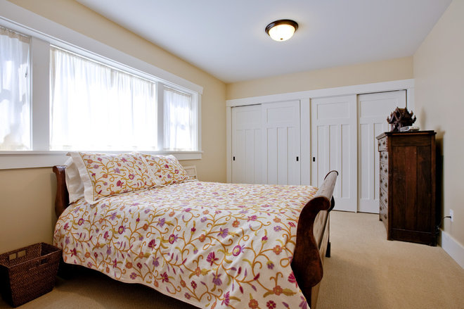 Craftsman Bedroom by Ventana Construction LLC