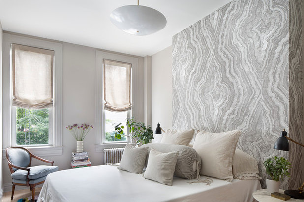 Transitional Bedroom by A.Jennison Interiors
