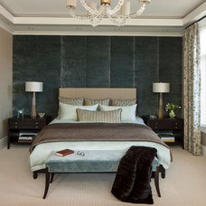 Transitional Bedroom by Michael Abrams Limited