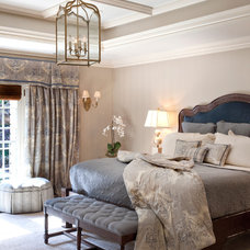 Traditional Bedroom by Diane Gerardi Design