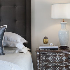 eclectic bedroom by Tiffany Eastman Interiors, LLC