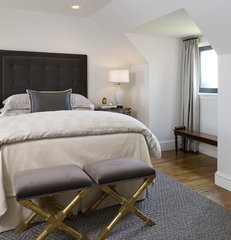 contemporary bedroom by Tiffany Eastman Interiors, LLC