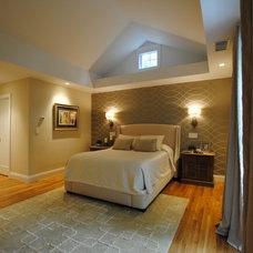 Contemporary Bedroom by Ana Milititsky Design LLC
