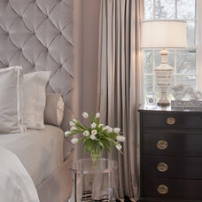 transitional bedroom by Tiffany Eastman Interiors, LLC
