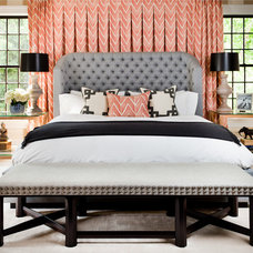 Transitional Bedroom by Thom Filicia Inc.