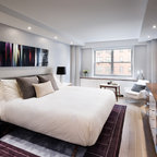 Contemporary Guesthouse Contemporary Bedroom