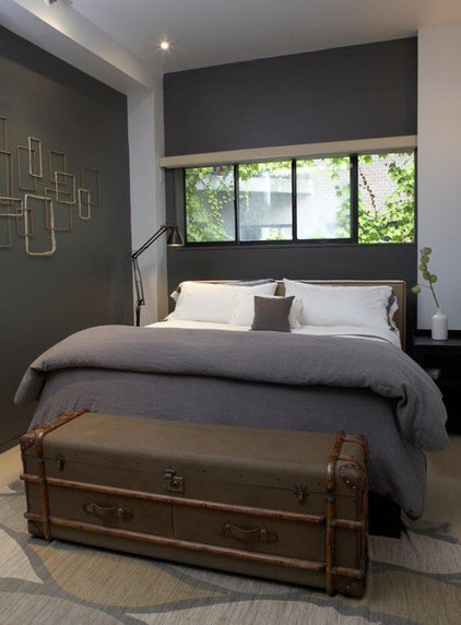 Eclectic Bedroom by Greenpoint Originals