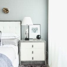 Transitional Bedroom by Antonino Buzzetta Design