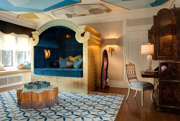 Eclectic Bedroom by Lori Dennis, Inc.