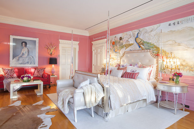 Victorian Bedroom by Woodson & Rummerfield's House of Design