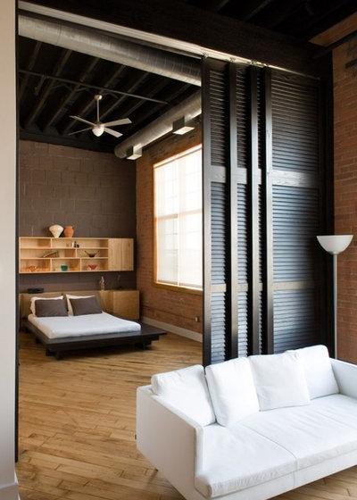 ラスティック 寝室 by Kevin Bauman