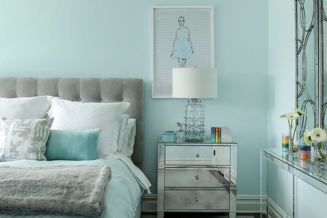 Transitional Bedroom by Karen B Wolf Interiors, Associate ASID