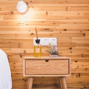 Свежая идея для дизайна: спальня в восточном стиле - отличное фото интерьера