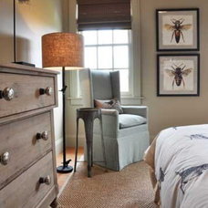 Eclectic Bedroom by GraysonHarris Interiors + Design, LLC