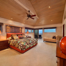Tropical Bedroom by Architectural Design & Construction