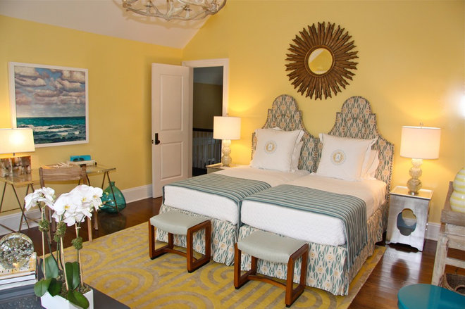 Eclectic Bedroom by Arden Stephenson, ASID