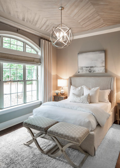 Transitional Bedroom by Artistic Interior Design/Amy N. Lee, ASID