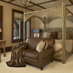 eclectic bedroom by Billy Beson Company