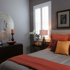 eclectic bedroom by Catherine Sands