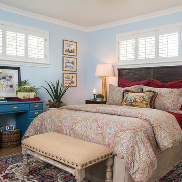 Guest Bedroom by Dona Rosene Interiors