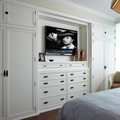 contemporary bedroom by Cindy Ray Interiors, Inc.