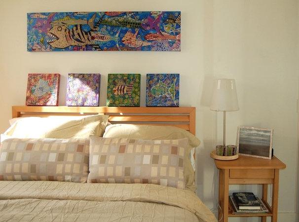 Beach Style Bedroom by Dana Nichols