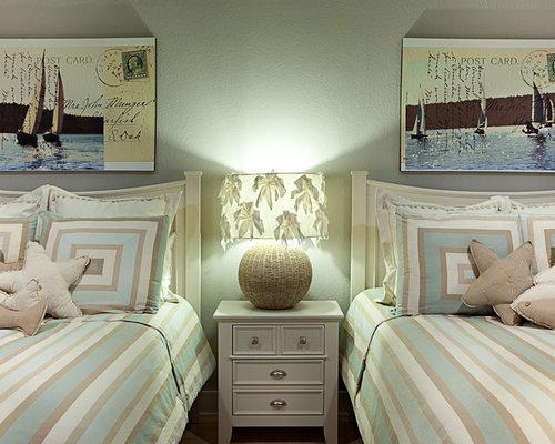 Beach House Bedroom | Houzz