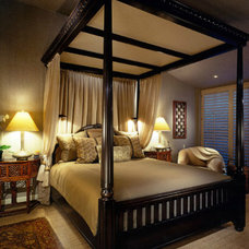 Asian Bedroom by Donna Livingston Design