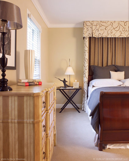 Traditional Bedroom by Dunlap Design Group, LLC