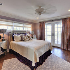 contemporary bedroom by Echelon Custom Homes