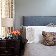 Transitional Bedroom by Elizabeth Reich