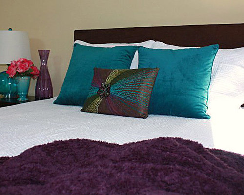 Purple And Teal Home Design Ideas Pictures Remodel And Decor