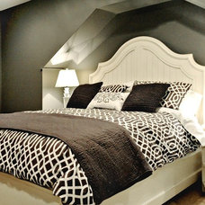 Contemporary Bedroom by Enviable Designs Inc.