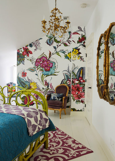 Eclectic Bedroom by anna forkum